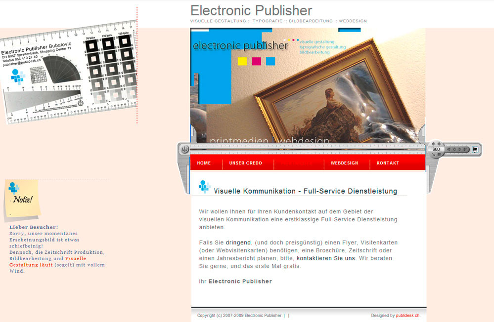 Electronic Publisher: publisher(at)publidesk.ch